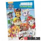 Paw Patrols - Jumbo Coloring Book