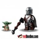 LEGO Minifigures 樂高人仔 - The Child & The Mandalorian 75299