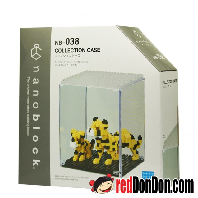 NB-038 陳列收藏盒 COLLECTION CASE nanoblock