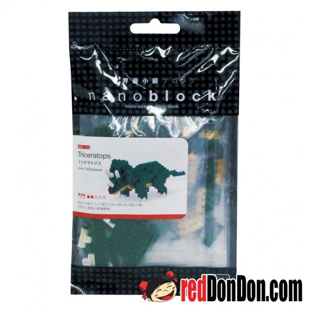 NBC-112 三角龍 TRICERATOPS nanoblock