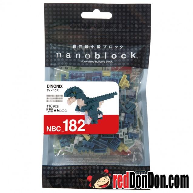 NBC-182 恐爪龍 DINONIX nanoblock