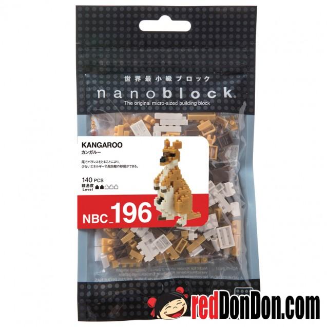 NBC-196 袋鼠 KANGAROO nanoblock