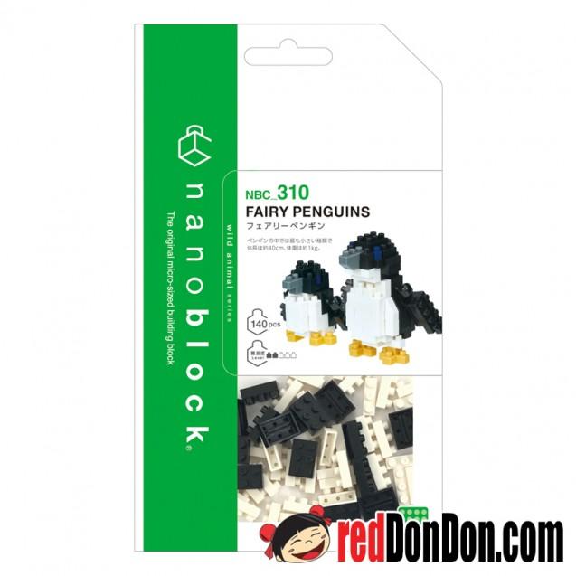 NBC-310 藍企鵝 FAIRY PENGUINS nanoblock