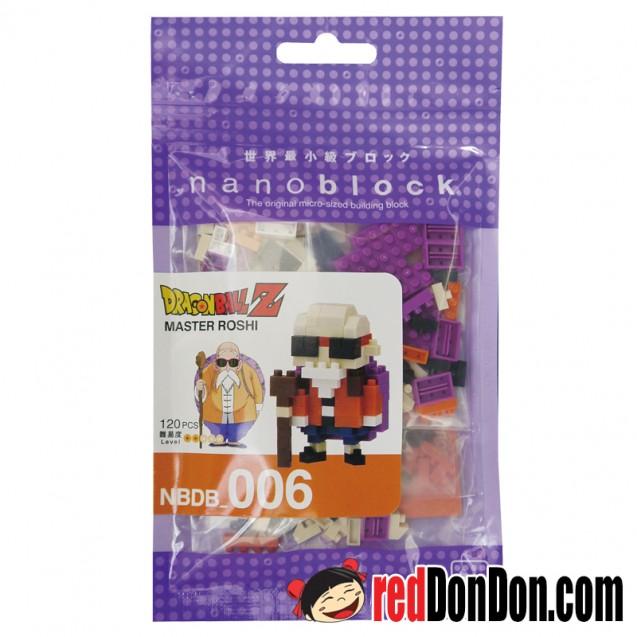 NBDB-006 nanoblock 龍珠 亀仙人 Master Roshi