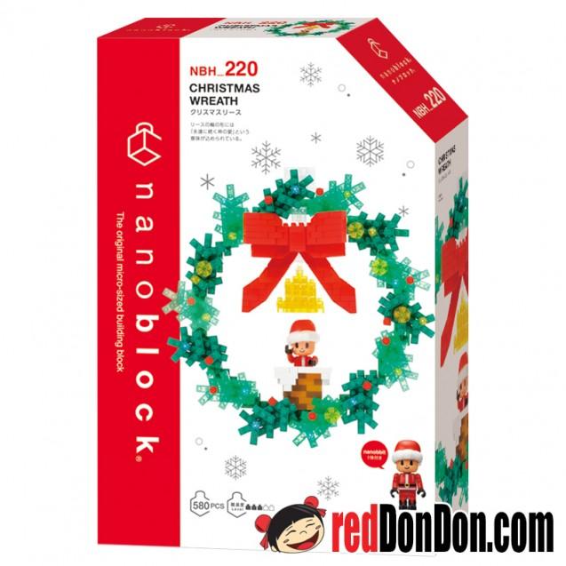 NBH-220 聖誕花環 CHRISTMAS WREATH nanoblock