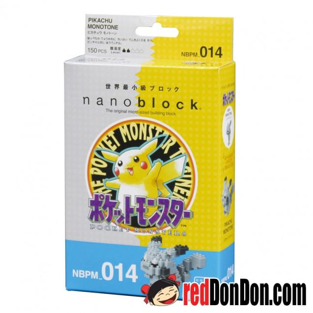 NBPM-014 Pokémon 比卡超復刻珍藏版 PIKACHU MONOTONE nanoblock